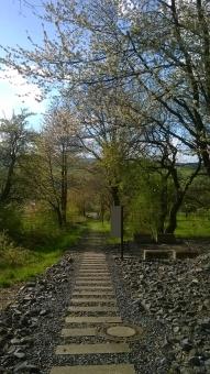 Bremsberg - Blickrichtung bergab